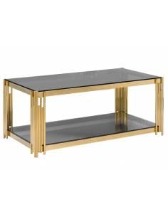 Metalowy zloty stolik...