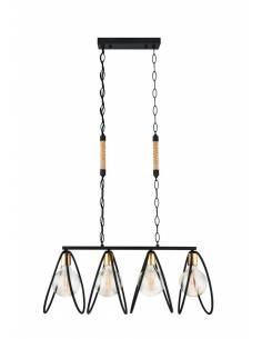 Nowoczesna stalowa lampa...
