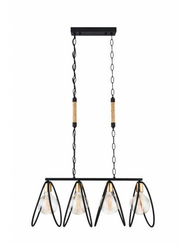 Nowoczesna stalowa lampa sufitowa ze...