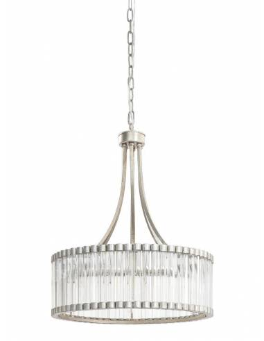 Kryształowy żyrandol glamour vintage...