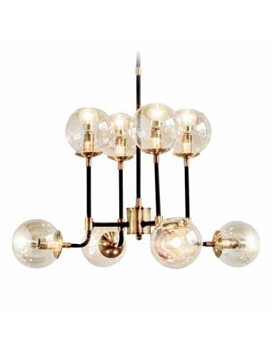 Lampa sufitowa ze szklanymi kloszami