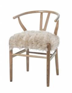 Drewniane krzesło Wishbone...