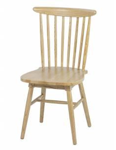 Drewniane krzesło dębowe o...