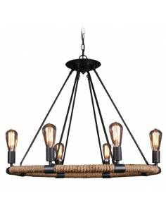 Lampa sufitowa ze stalowej...