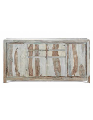 Devi - komoda z bielonego drewna...