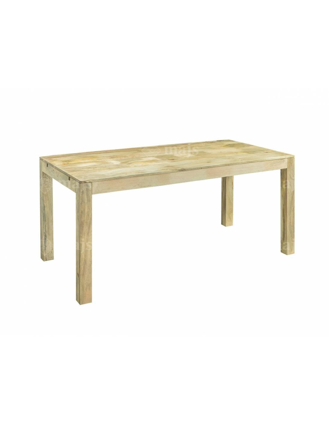 Stół do jadalni mango 180-260 cm z egzotycznego litego drewna