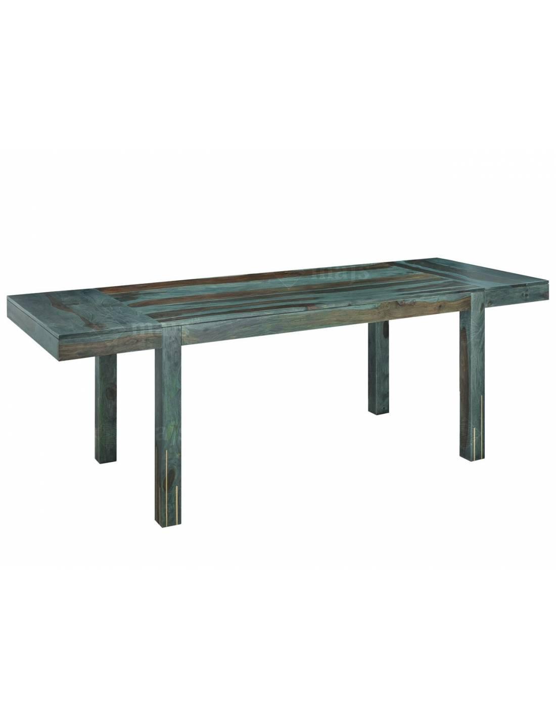 Stół 160-240 cm do salonu, jadalni z litego drewna palisandru