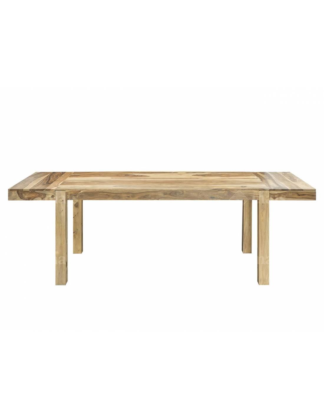 Duży stół do jadalni 180-260 cm z litego egzotycznego drewna palisandru