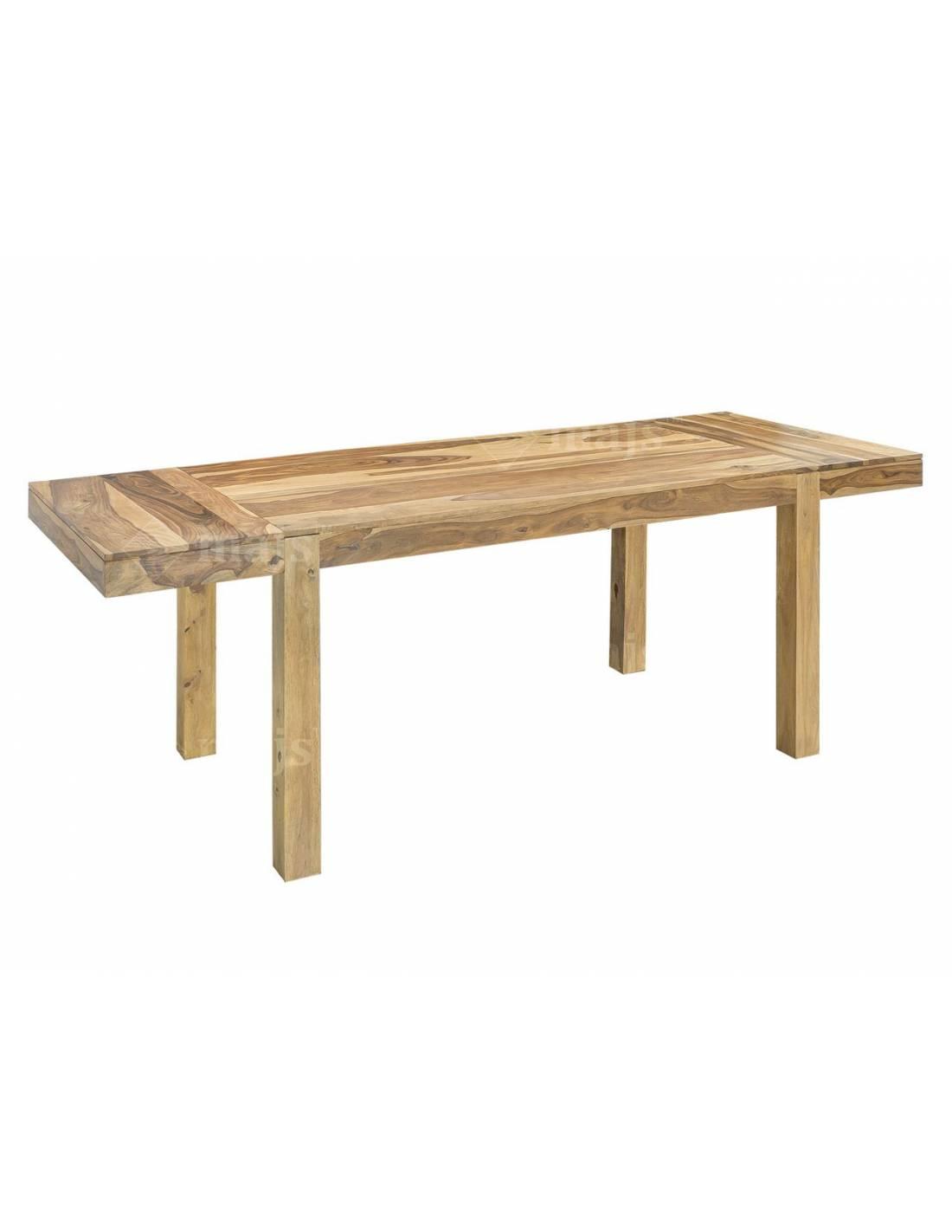 Stół 160-240 cm do jadalni z litego egzotycznego drewna palisandru