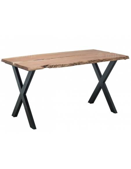 Drewniany stół do jadalni z drewna egzotycznego