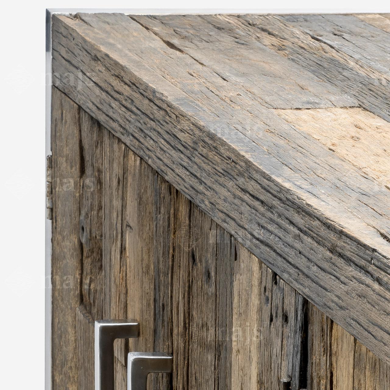 Komoda z litego drewna recyklingowanego